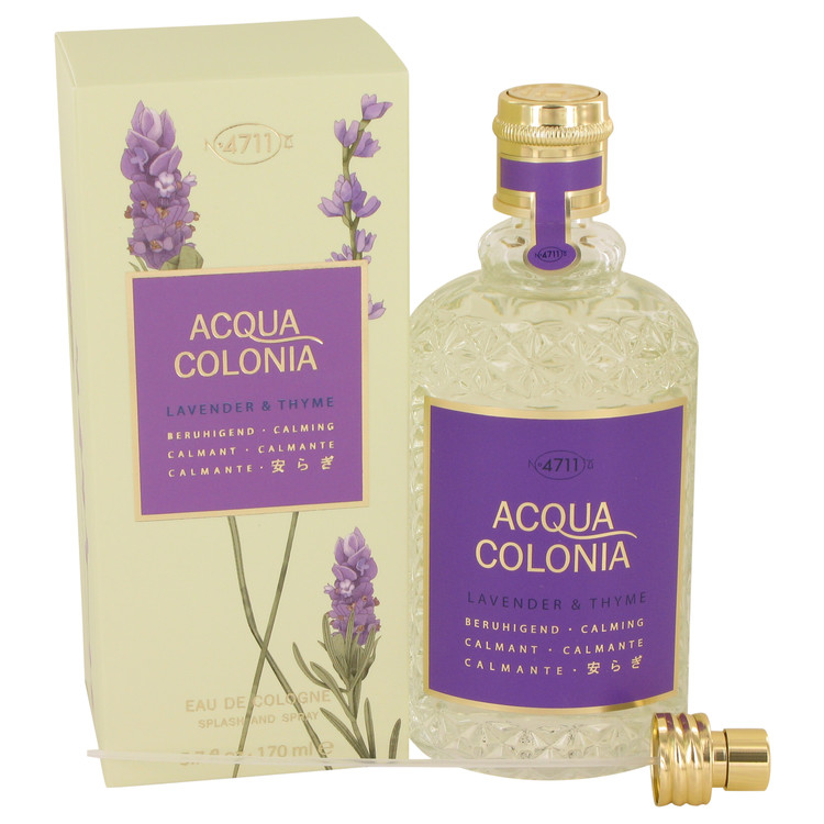 4711 ACQUA COLONIA Lavender & Thyme by Maurer & Wirtz for Women Eau De Cologne Spray (Unisex) 5.7 oz