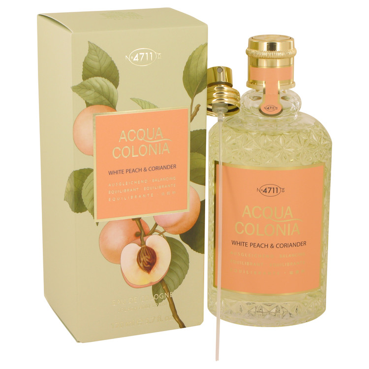 4711 Acqua Colonia White Peach & Coriander by 4711