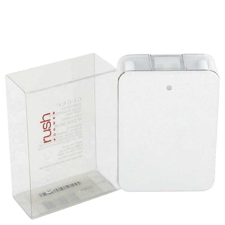 Gucci Rush for Men, Gift Set (3.4 oz EDT Spray + 3.4 oz After Shave Lotion)