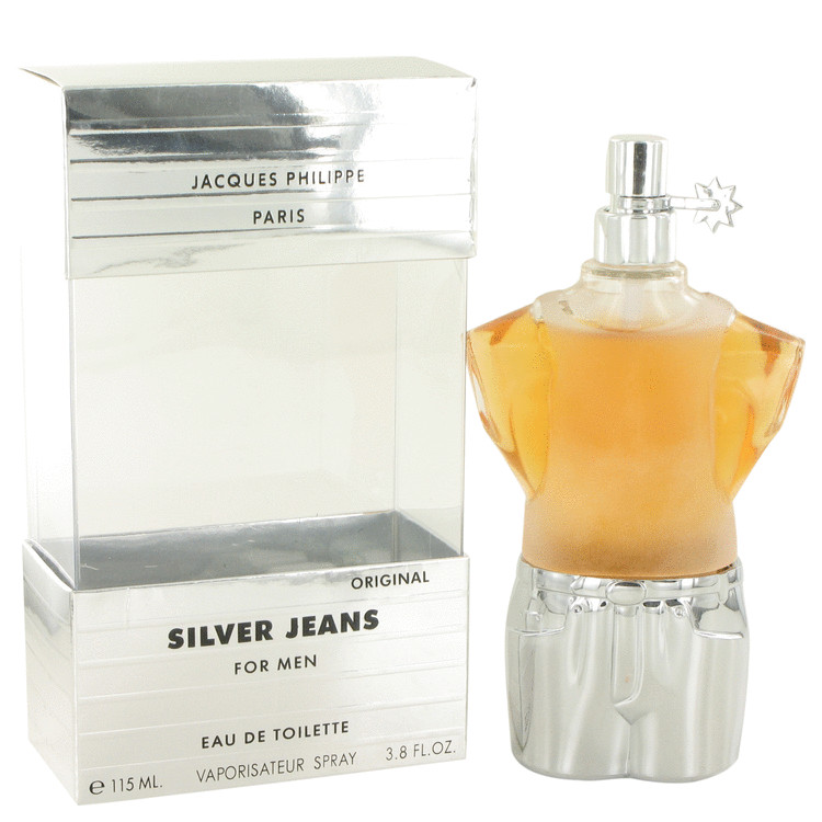 Silver Jeans Cologne by Jacques Philippe 112 ml EDT Spay for Men