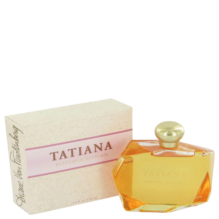 TATIANA by Diane von Furstenberg Bath Oil 4 oz for Women