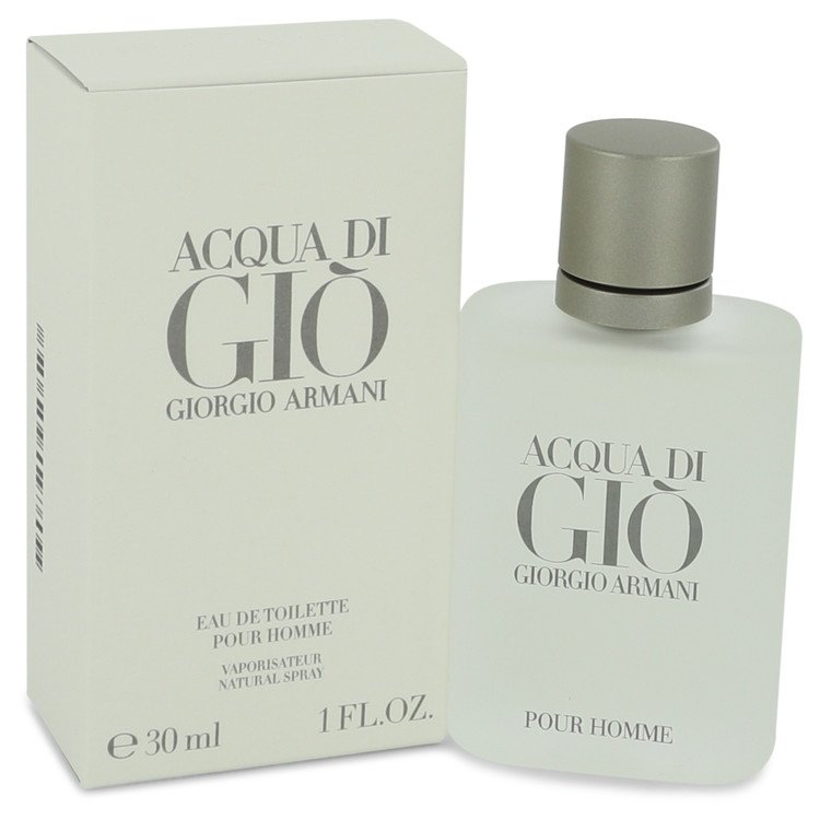 Acqua Di Gio by Giorgio Armani Men's Eau De Toilette Spray 1 oz