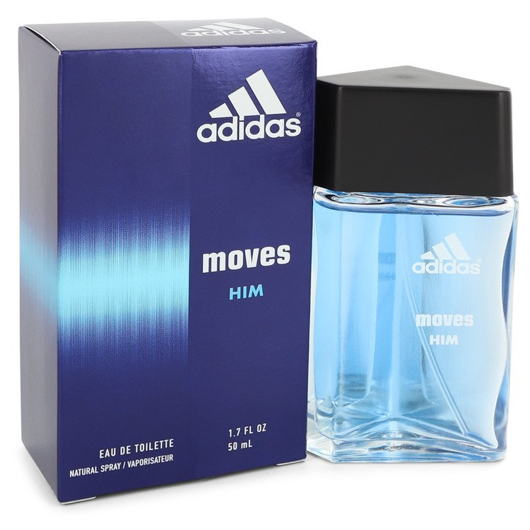 Adidas Moves Cologne by Adidas 50 ml Eau De Toilette Spray for Men