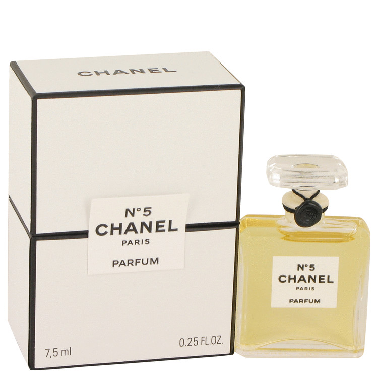 Chanel No. 5 Perfume by Chanel 1/4 oz Pure Perfume for Women