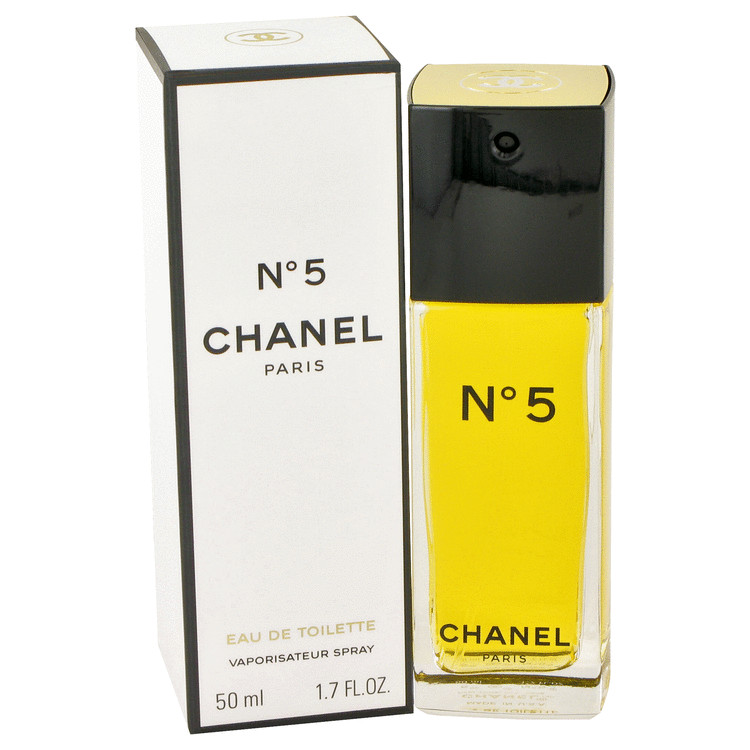 Chanel No. 5 Perfume by Chanel 1.7 oz EDT Spray for Women