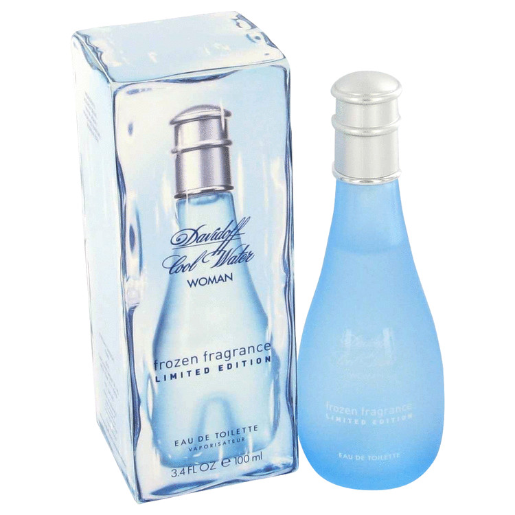Cool Water Frozen Perfume by Davidoff 100 ml EDT Spay for Women