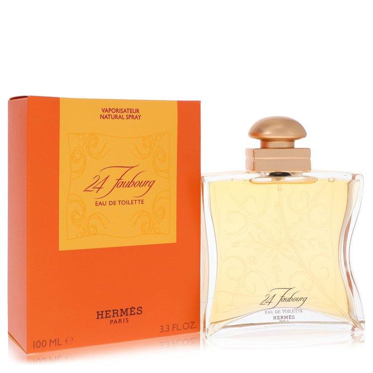 24 Faubourg Gift Set -- Gift Set - 1.6 oz Eau De Toilette Spray + (2) 1.7 oz Soaps for Women