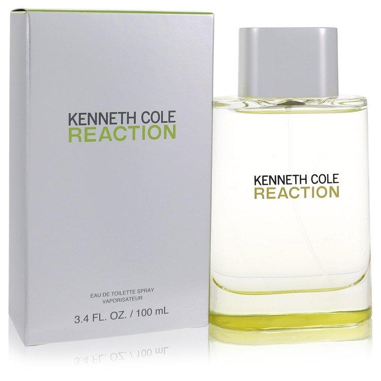 Kenneth Cole Reaction Gift Set -- Gift Set - 1.7 oz Eau De Toilette Spray + 6.7 oz Hair & Body Wash with Grooming Bag for Men
