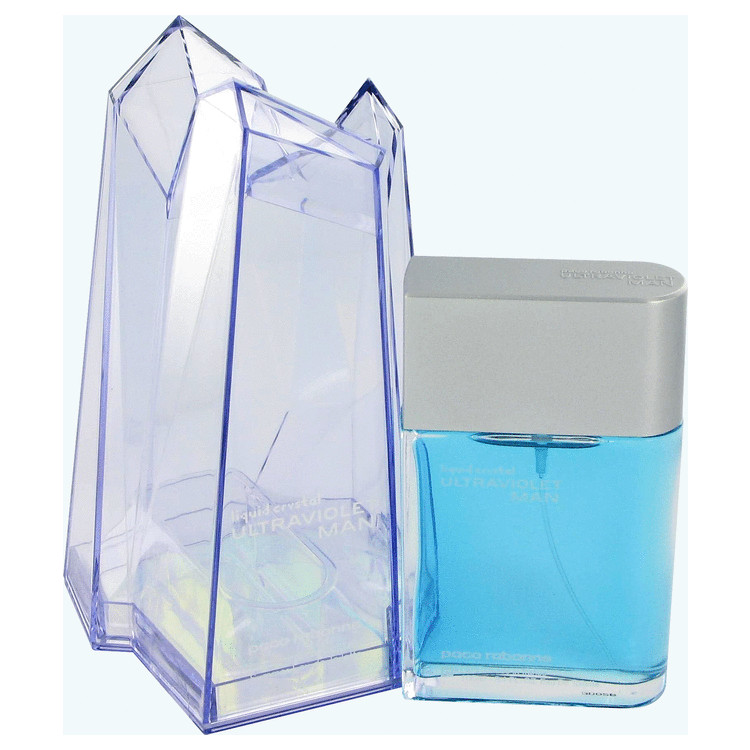 Liquid Crystal Cologne by Paco Rabanne 100 ml EDT Spay for Men