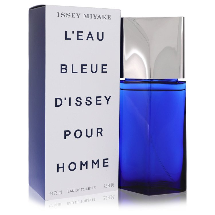 L'eau Bleue D'issey Pour Homme Gift Set -- Gift Set - 4.2 oz Eau De Toilette Spray + 2.5 oz Shower Gel + 1 oz After Shave Balm for Men