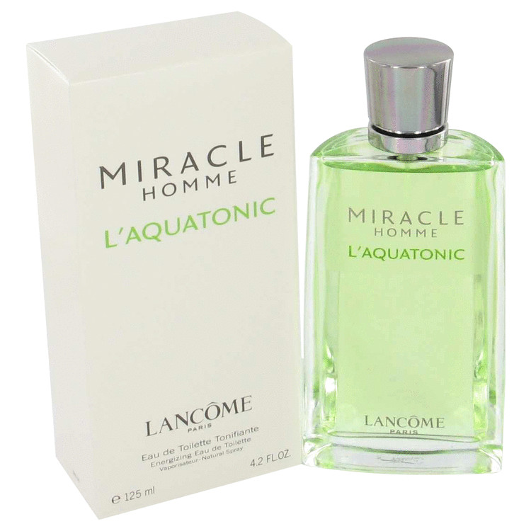 Miracle L'aquatonic Cologne by Lancome 50 ml EDT Spay for Men