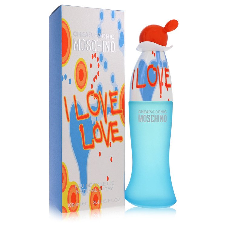 I Love Love Gift Set -- Gift Set - 1.7 oz Eau De Toilette Spray + 3.4 oz Body Lotion for Women