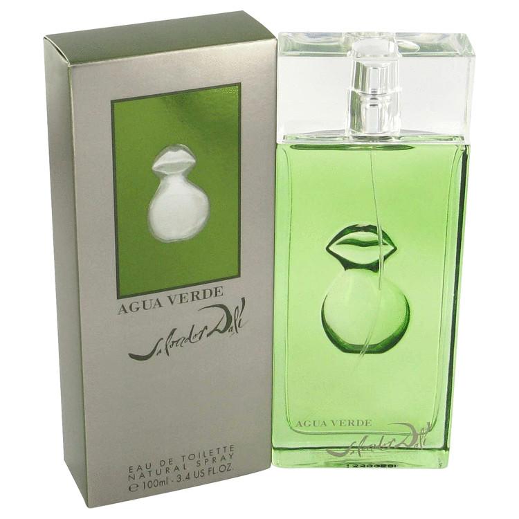 Agua Verde Gift Set -- Gift Set - 3.4 oz Eau De Toilette Spray + .27 oz EDT Mini + 6.7 oz Shower Gel for Men