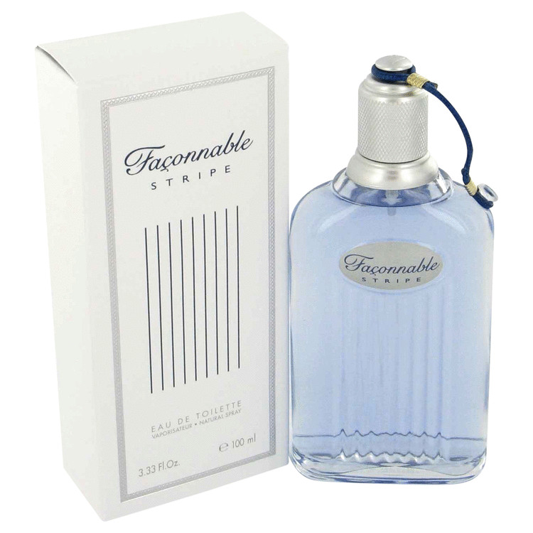 Faconnable Stripe Cologne by Faconnable 100 ml EDT Spay for Men