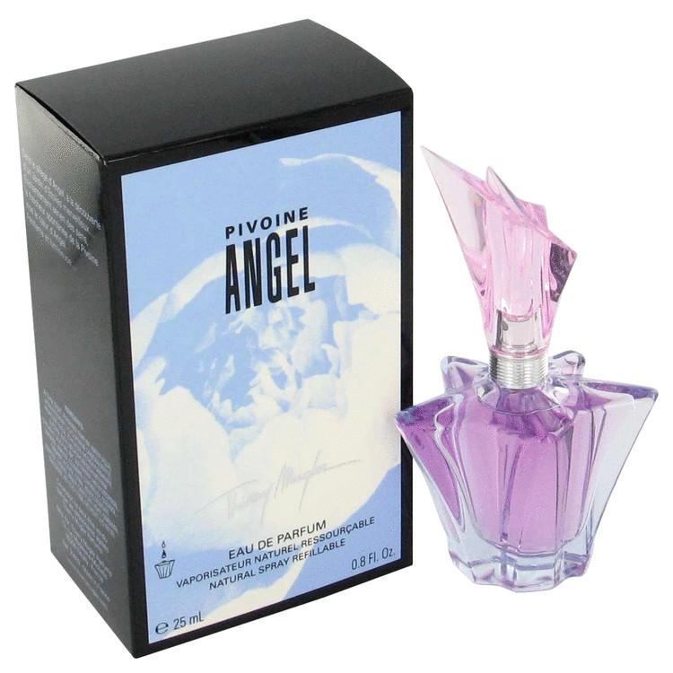 Angel Peony for Women, Gift Set (.17 oz Mini Angel Violet EDP + .17 oz Mini Angel Peony EDP + .17 oz Mini Angel Lily EDP + .17 oz Mini Rose EDP)