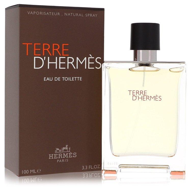 Terre D'hermes Gift Set -- Gift Set - 3.4 oz Eau De Toilette Spray + 1.35 oz All Over Shower Gel + .41 oz Mini EDT for Men
