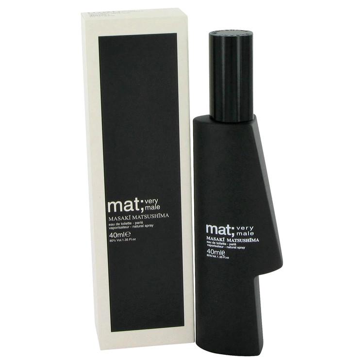 Mat Very Male Cologne by Masaki Matsushima 80 ml EDT Spay for Men