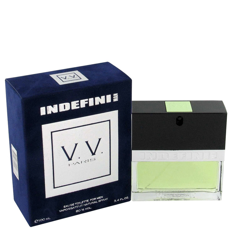 Indefini Man Cologne by Geparlys 3.4 oz EDT Spray for Men