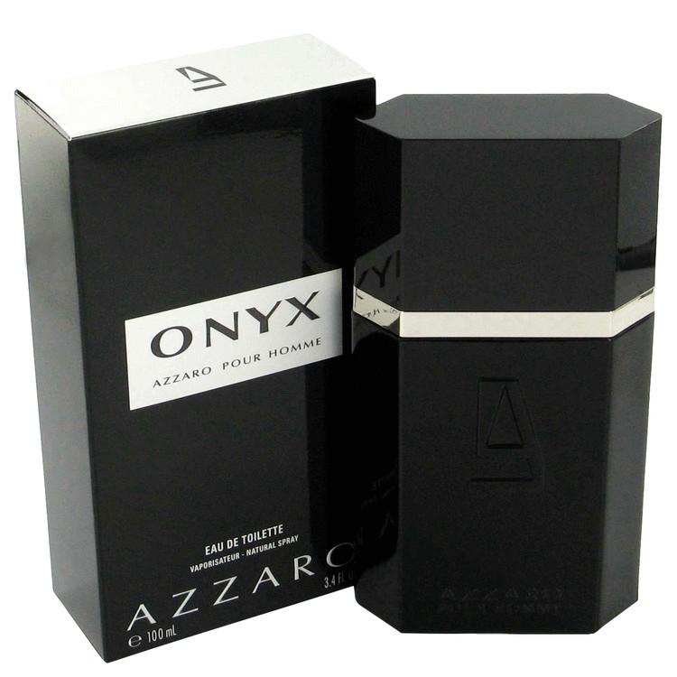 Onyx Gift Set -- Gift Set - 3.4 oz Eau De Toilette Spray + 1.7 oz After Shave Balm + .23 oz Mini EDT for Men