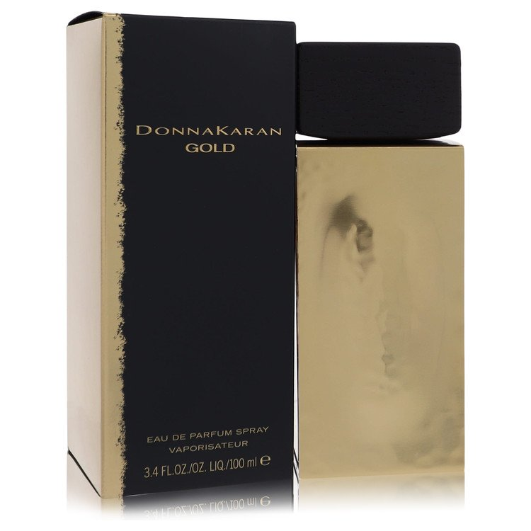 Donna Karan Gold Gift Set -- Gift Set - 1.7 oz Eau De Toilette Spray + 3.4 oz Body Lotion for Women