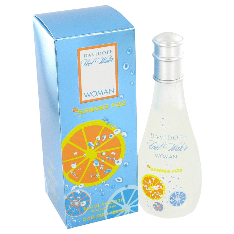 Cool Water Summer Fizz Perfume by Davidoff 100 ml EDT Spay for Women
