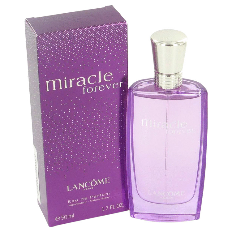 Miracle Forever Perfume by Lancome 50 ml Eau De Parfum Spray for Women