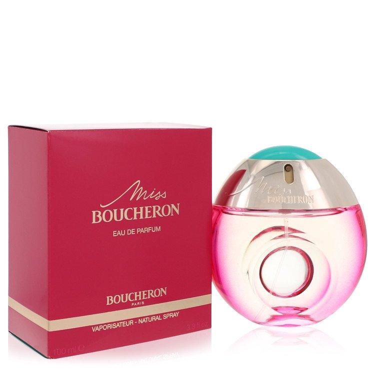 Miss Boucheron Gift Set -- Gift Set - 1.6 oz Eau De Parfum Spray  + 3.4 oz Body Milk for Women