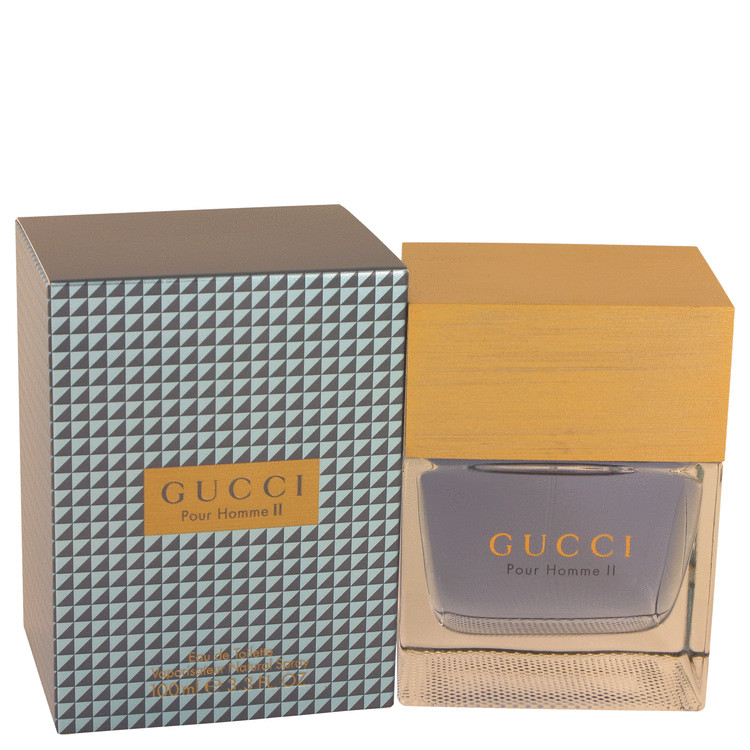 Gucci Pour Homme Ii Cologne 10.5 Giant Factice Display Bottle (5.5 x 9.5 x 10.5) for Men