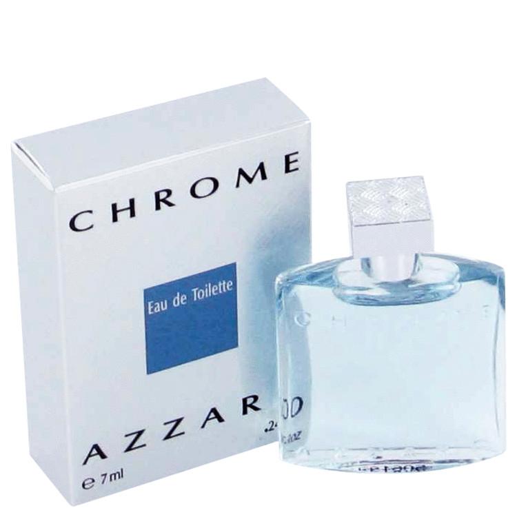 Chrome by Azzaro –  Mini EDT .23 oz 7 ml for Men