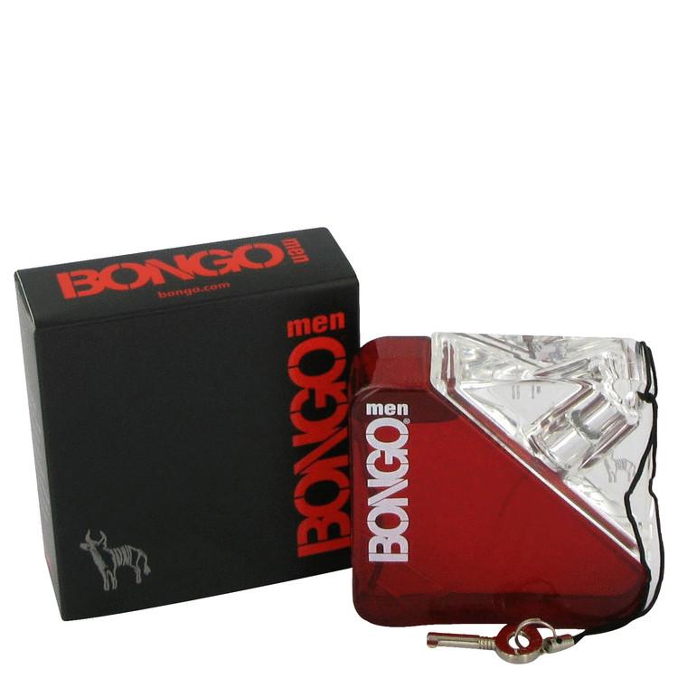 Bongo Gift Set -- Gift Set - 1.7 oz Eau De Toilette Spray + 3.3 oz After Shave Balm + 3.3 oz Body Wash for Men