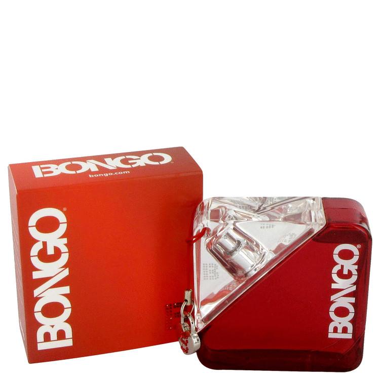 Bongo Gift Set -- Gift Set - 1.7 oz Eau De Toilette Spray + 3.3 oz Body Lotion + 3.3 oz Shower Gel for Women