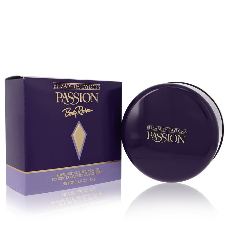 PASSION by Elizabeth Taylor –  Dusting Powder 2.6 oz 77 ml for Women