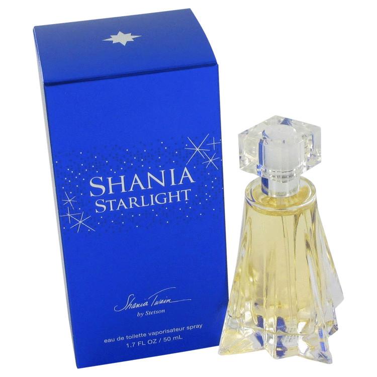 Shania Starlight Gift Set -- Gift Set - 1.7 oz Eau De Toilette Spray + 4 oz Body Lotion + 4 oz Shower Gel for Women