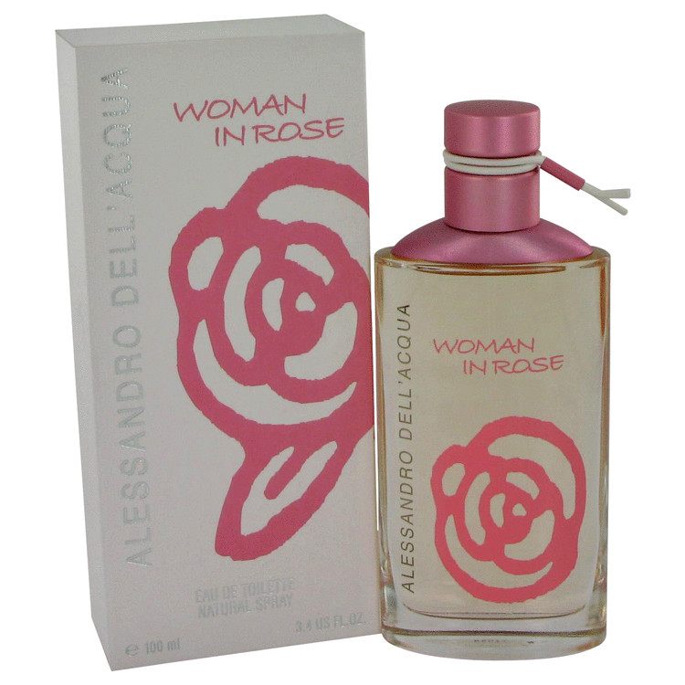 Woman In Rose Perfume 100 ml EDT Spay for Women