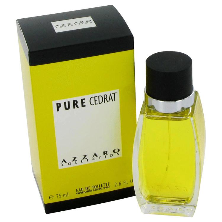 Azzaro Pure Cedrat Cologne by Azzaro 2.5 oz EDT Spay for Men