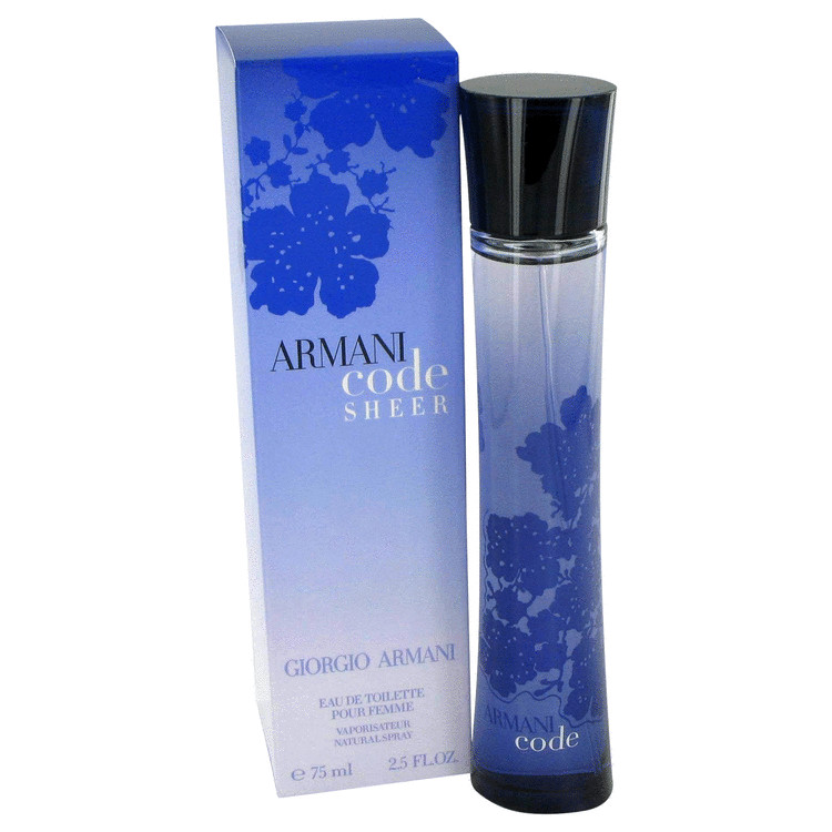 Armani Code Sheer Perfume by Giorgio Armani 50 ml EDT Spay for Women