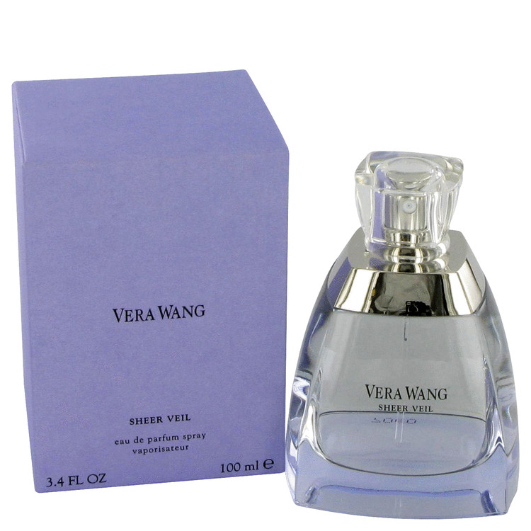 Vera Wang Sheer Veil Gift Set -- Gift Set - 1.7 oz Eau De Parfum Spray + 3.4 oz Body Lotion + 3.4 oz Shower Gel + .13 oz  Mini EDP for Women
