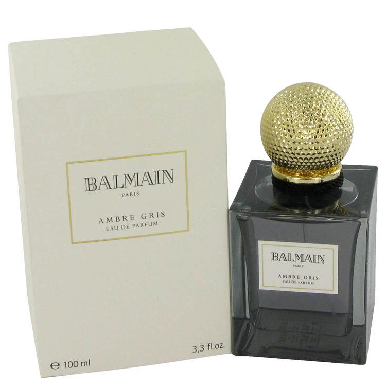 Balmain Ambre Gris Gift Set -- Gift Set - 3.3 oz Eau De Parfum Spray + 6.8 oz Body Lotion for Women