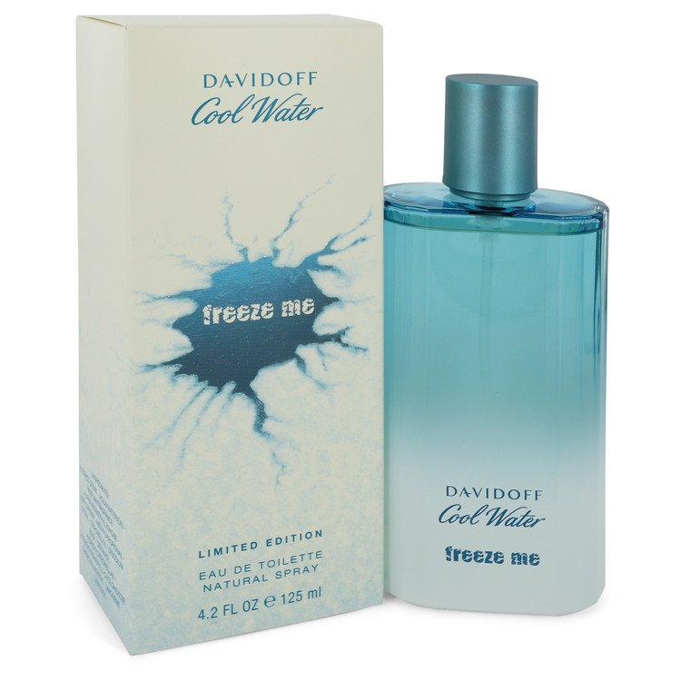 Cool Water Freeze Me Cologne by Davidoff 4.2 oz EDT Spay for Men
