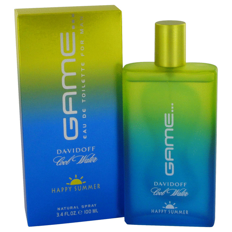 Cool Water Happy Summer Cologne 3.4 oz EDT Spray (2007) for Men