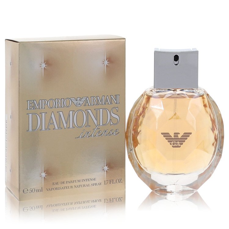 Emporio Armani Diamonds Intense Gift Set -- Gift Set - 1.7 oz Eau De Parfum Spray + 6.7 oz Body Lotion for Women