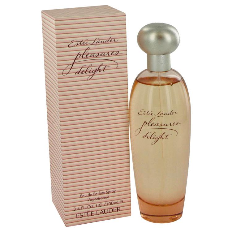 Pleasures Delight for Women, Gift Set (1.7 oz EDP Spray + 3.4 oz Body Lotion + Tote)