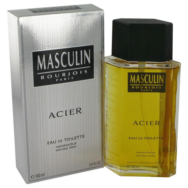 Masculin Acier Cologne by Bourjois 100 ml EDT Spay for Men