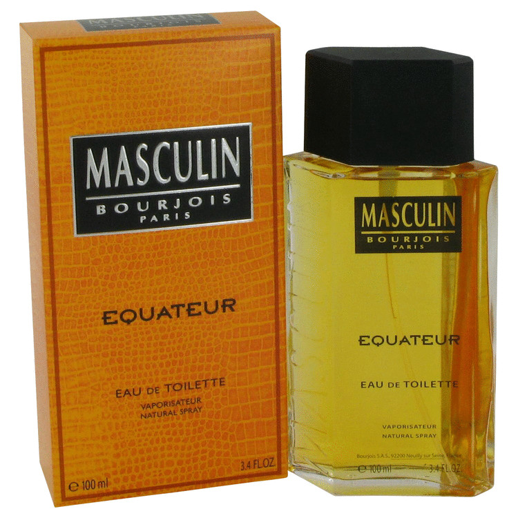 Masculin Equateur Cologne by Bourjois 100 ml EDT Spay for Men