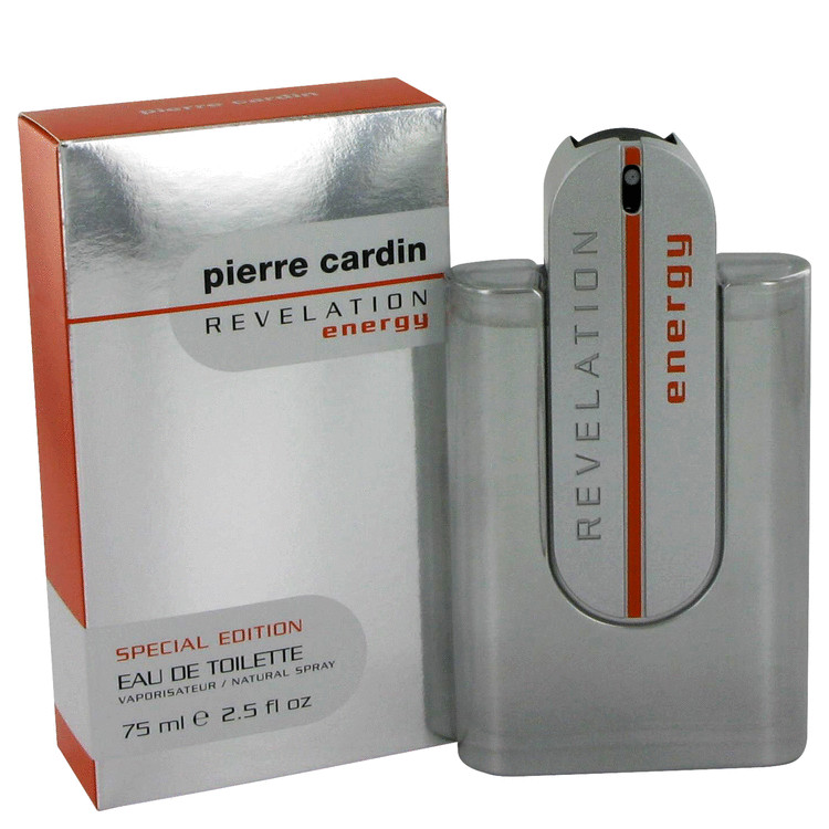Pierre Cardin Revelation Energy Cologne 75 ml EDT Spay for Men
