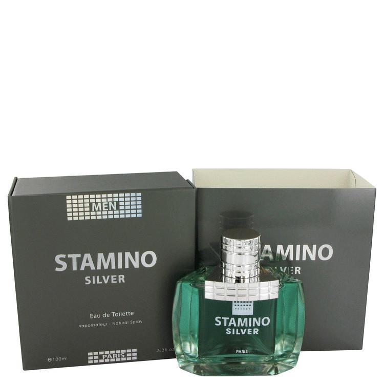 Stamino Silver Cologne by Prestige Sas 100 ml EDT Spay for Men