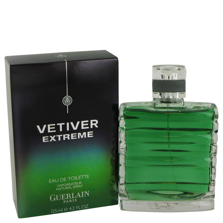 Vetiver Extreme Cologne by Guerlain 4.2 oz EDT Spay for Men