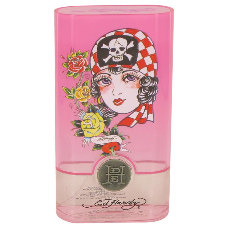 Ed Hardy Born Wild Gift Set -- Gift Set - 3.4 oz Eau De Parfum Spray + 3 oz Body Lotion + 3 oz Shower Gel + .25 oz Mini EDP for Women