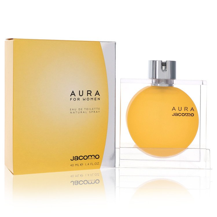 AURA by Jacomo for Women Eau De Toilette Spray 1.4 oz