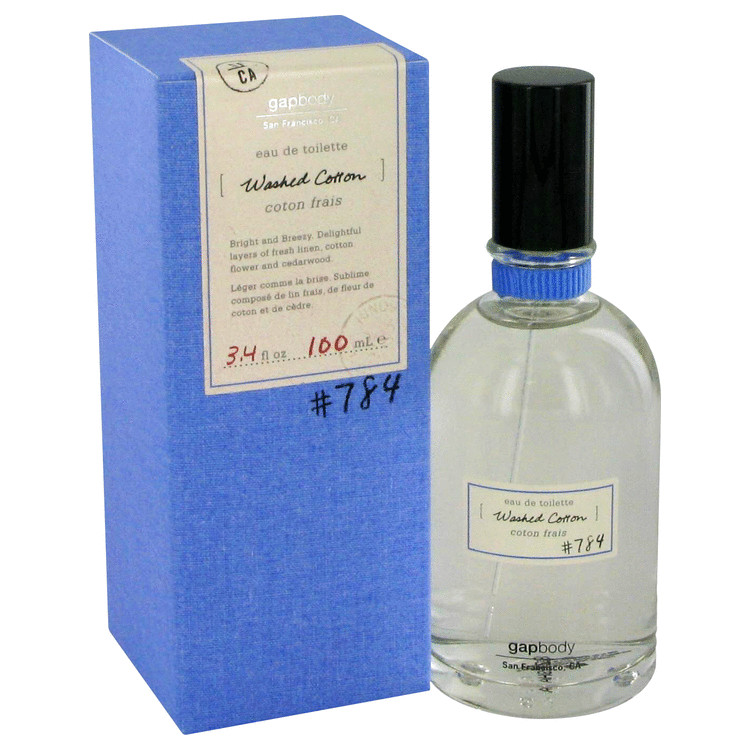 Washed Cotton 784 Perfume by Gap 100 ml EDT Spay for Women